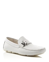 Kenneth Cole In Theme Driving Loafers White