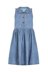 Mih Jeans Sun Dress Blue