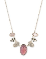 Judith Jack Crystal Marcasite Mother Of Pearl And Sterling Silver Necklace Gold