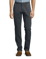 Strellson Twill Chino Pants Dark Grey