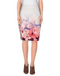 Finders Keepers Skirts Knee Length Skirts Women Ivory