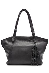 Henry Beguelin Leather Tote With Knotted Tassel Gr. One Size