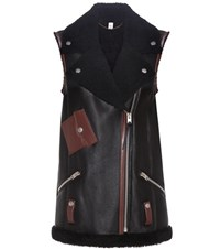 Coach Leather Vest Blue