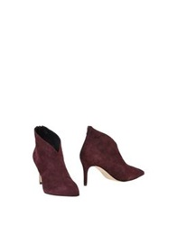 Brera Ankle Boots Deep Purple