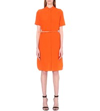 Paul Smith Silk Orange Shirt Dress
