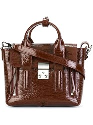 3.1 Phillip Lim Mini 'Pashli' Satchel Red