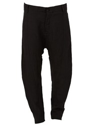 Masnada Tapered Trousers Black
