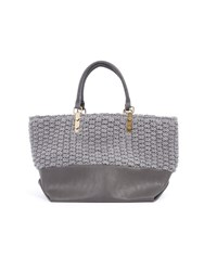 Lavand Structured Tote Bag Grey