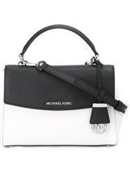 Michael Michael Kors Bicolour Satchel White