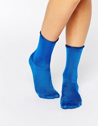 Jonathan Aston Luminosity Socks Electric Blue