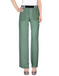 Michelle Windheuser Casual Pants Light Green