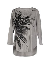 Barbara Bui Topwear T Shirts Women Grey