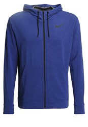 Nike Performance Tracksuit Top Deep Royal Blue Black