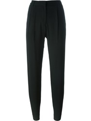 Versus Tapered Trousers Black