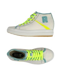 Ruco Line Footwear High Tops And Trainers Women Ivory
