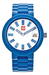 Lego 'Brick' Bracelet Watch 42Mm Blue