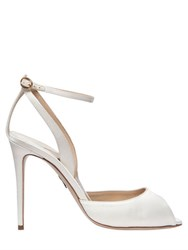 Paul Andrew 95Mm Europeaus Satin Peep Toe Sandals