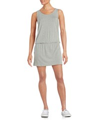 Bench Heathered Skort Romper Grey