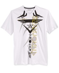 Sean John Men's Big And Tall Graphic Print T Shirt Bright White