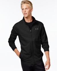 Under Armour Vital Full Zip Wind Resistant Jacket Black