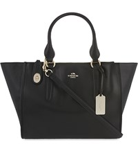 Coach Crosby Leather Carryall Black