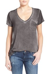 Women's Socialite V Neck Pocket Tee