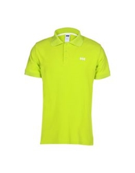 Helly Hansen Polo Shirts Light Green
