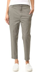 Vince Carrot Chino Pants Olive