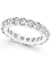 Charter Club Crystal All Around Ring Only At Macy's Silver