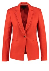 Banana Republic Blazer Orange Lava