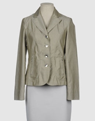 Diana Gallesi Blazers Light Grey