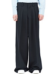 Marni Wide Leg Wool Pants