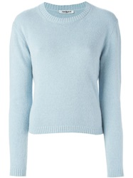 Cacharel Cropped Sweater Blue