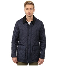 Cole Haan Quilted Nylon Barn Jacket Navy Men's Jacket