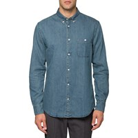 Nn.07 Nn07 Denim New Derek Shirt Blue