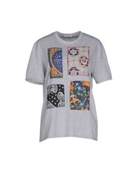 Authentic Original Vintage Style Topwear T Shirts Women Light Grey