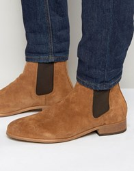 Shoe The Bear Suede Chelsea Boots Tan