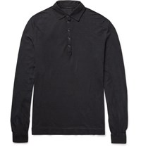 Massimo Alba Maimo Lim Fit Garment Dyed Cotton Jerey Polo Hirt Unknown