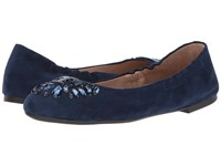 Tory Burch Delphine Ballet Royal Navy Women's Ballet Shoes
