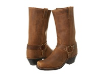 Frye Harness 12R Dark Brown Crazy Horse Women's Pull On Boots