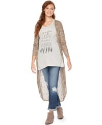 Wendy Bellissimo Maternity Open Front Cardigan