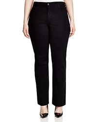 Nydj Plus Barbara Bootcut Jeans In Black