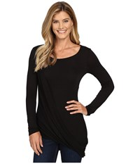 Kut From The Kloth Jerrica Black Women's Long Sleeve Pullover