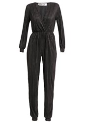 Oh My Love Stay Another Day Jumpsuit Black