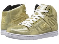 Dc Rebound High Se Gold Women's Skate Shoes