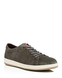 To Boot New York Barlow Lace Up Sneakers Stone Brown