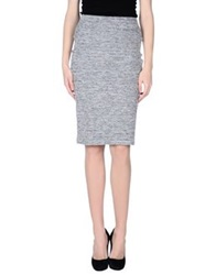 Nougat London Knee Length Skirts Grey