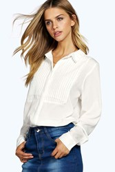 Francesca Pintuck Detail Shirt