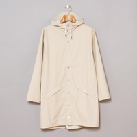 Rains Long Jacket Sand Oi Polloi