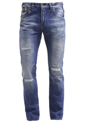 Ltb Floyd Slim Fit Jeans Devit Wash Destroyed Denim
